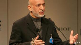 Sicherheitskonferenz München Hamid Karzai