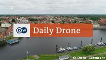 DW Daily Drone- Sportbootanger Wittenberge
