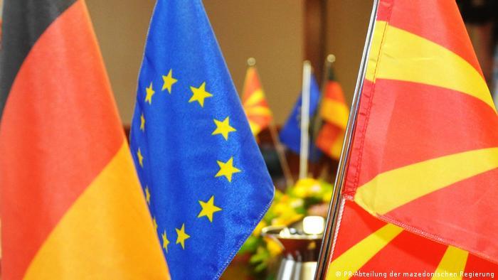 Deutschland Mazedonische Vizeministerpräsident Bujar Osmani in Berlin