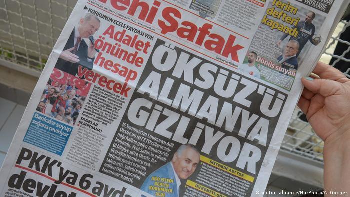Türkei Tageszeitung Yeni Safak zu Adil Öksüz