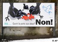 Спорните плакати не са новост в Швейцария - преди време