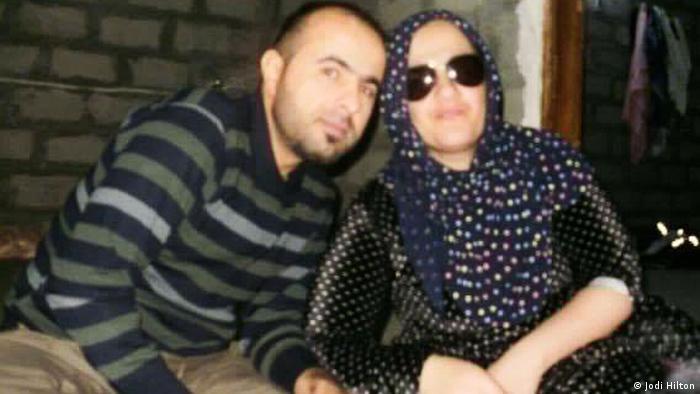 Trifas brother Rebwar and his wife Selwa Najad