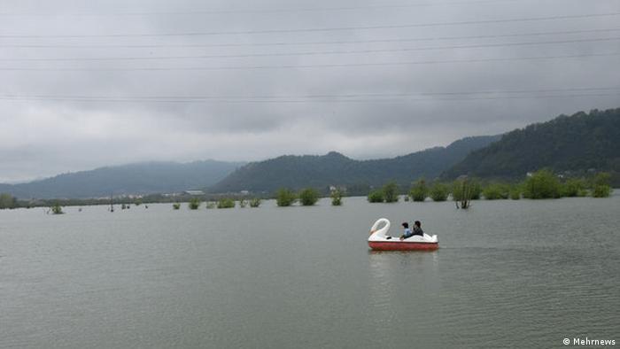 Озеро в провинции Гилан