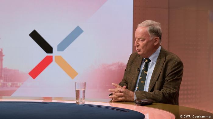 Deutschland wählt DW Interview mit Alexander Gauland AfD (DW/R. Oberhammer)