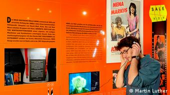 "Exhibition Oh Yeah Pop Musik in Germany"" in Frankfurt (Photo: Martin Luther)"