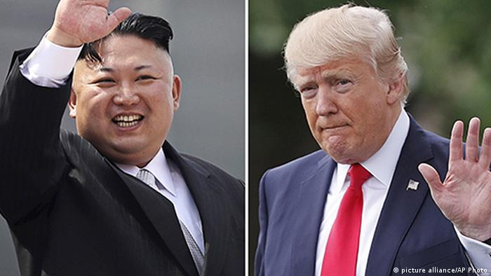 Kim Jong Un, Donald Trump (picture alliance/AP Photo)
