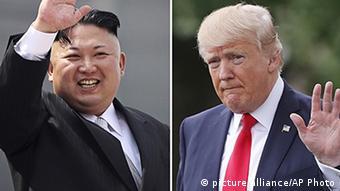 Kim Jong Un, Donald Trump (picture alliance/AP Photo)