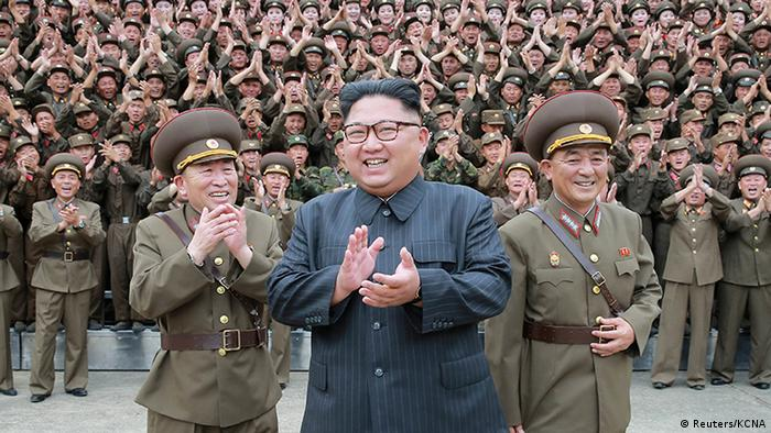Nordkorea Kim Jong Un Armee Offiziere
