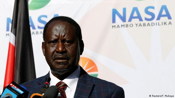 Raila Odinga: ′No electoral changes, no election in Kenya′ | Africa | DW | 22.09.2017