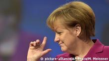 Deutschland CDU-Parteitag- Angela Merkel