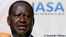 Kenia Opposition Führer Raila Odinga NASA Koalition
