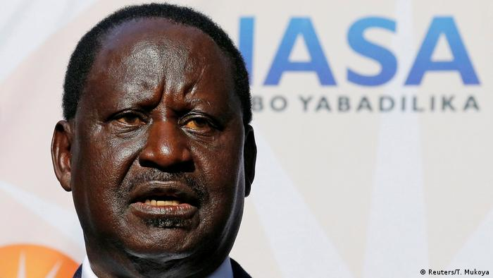 Raila Odinga NASA