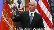 Chile   US-Vizepräsident Mike Pence besucht Chile
