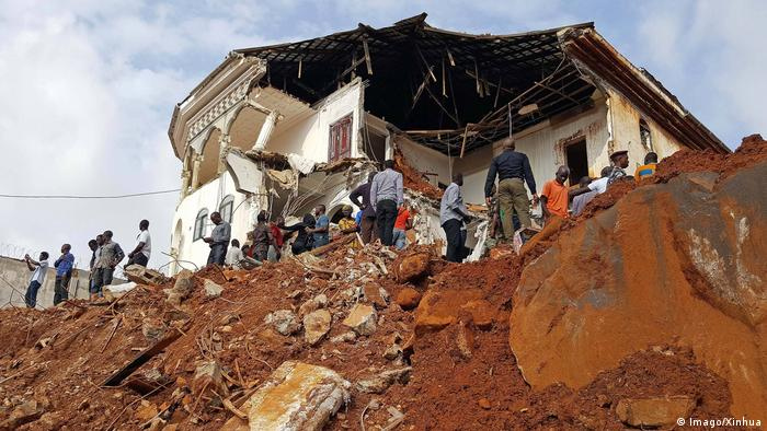 Freetown, Sierra Leone after deadly mudslides