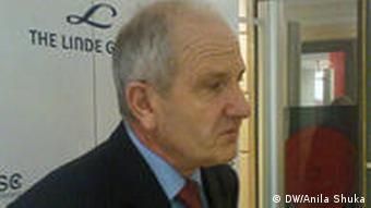 Kosovos President Fatmir Sejdiu