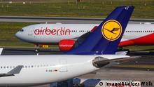 Lufthansa und Air Berlin