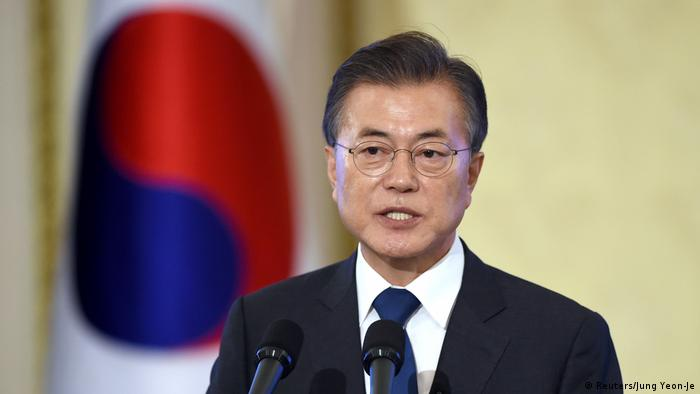 Südkorea PK Moon Jae-in (Reuters/Jung Yeon-Je)