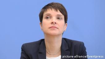 Deutschland Pressekonferenz mit Dr. Frauke Petry (picture-alliance/Eventpress)