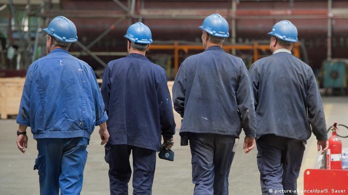 Рабочие в Германии