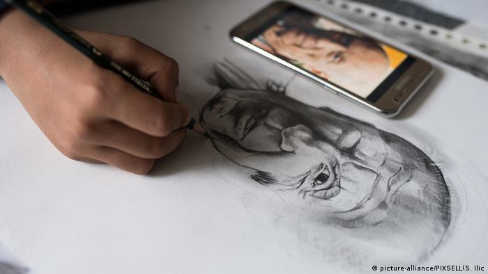 Serbien Farhad Nuri Flüchtling aus Afghanistan (picture-alliance/PIXSELL(S. Ilic)