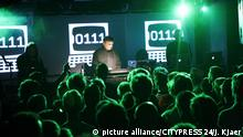 Electronic music pioner and composer Karl Bartos behind his keyboards at a live concert at Rust in Copenhagen. 07/06 2007.   Verwendung weltweit