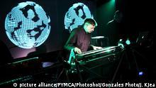 Electronik Musik Leader und Komponist Karl Bartos