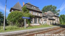 Brandenburg Wohnen im Bahnhofsgebäude