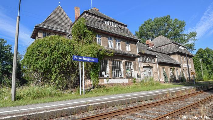 Вокзал в Фалькенберге