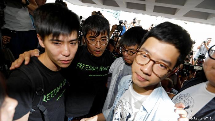 Hongkong Urteil im Prozess um die Pro-Demokratie Proteste (Reuters/T. Su)