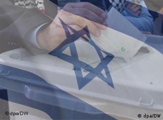 Symbolbild Wahl Israel (Quelle: DW)