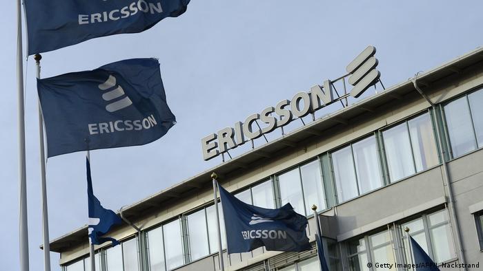 Schweden Stockholm Firmensitz Ericsson