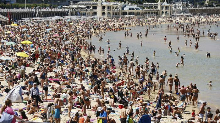 Spanien Touristen in Spanien