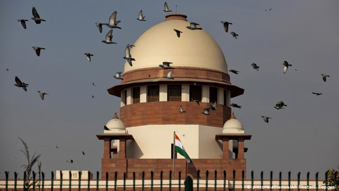 Indien Oberstes Gericht Supreme Court (picture-alliance/AP Photo/T. Topgyal)