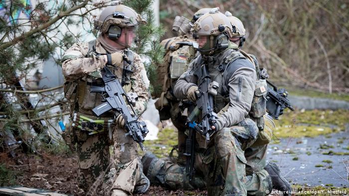 Trupa de elită KSK în acțiune