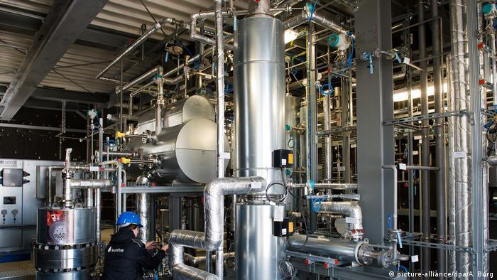 Postrojenje tvrtke Sunfire za proizvodnju sintetičkoga goriva