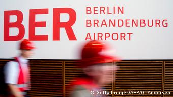 Deutschland BER Berlin Brandenburg Airport (Getty Images/AFP/O. Andersen)