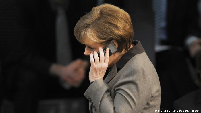 Bundestag Angela Merkel (picture-alliance/dpa/R. Jensen)