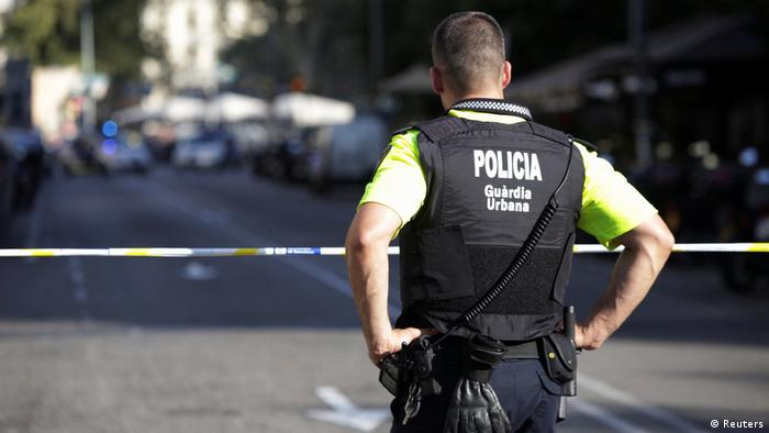 Spanien Barcelona Lieferwagen fährt in Menschenmenge (Reuters)
