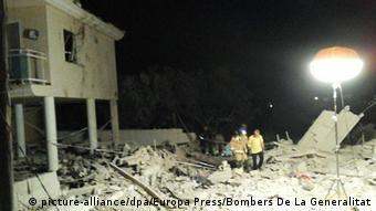 Έκρηξη από διαρροή φυσικού αερίου που σημειώθηκε στο Αλκανάρ την Τετάρτη συνδέεται με την επίθεση της Βαρκελώνης