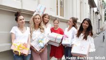 Happy Box ein Willkommensprojekt für geflüchtete Menschen in Deutschland. © Happy Box/Yener Selcuk