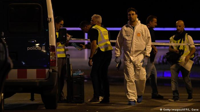 Spanien Fünf Terroristen in Cambrils erschossen (Getty Images/AFP/L. Gene)