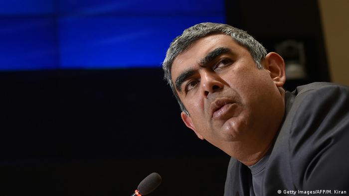 Indien CEO von Infosys Technologies Limited Vishal Sikka (Getty Images/AFP/M. Kiran)