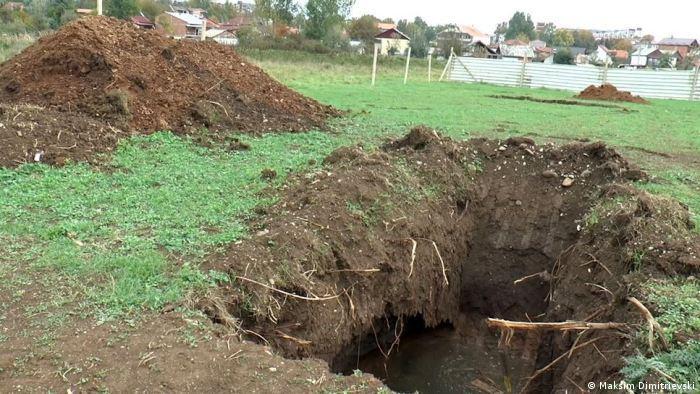 Mazedonien Bauarbeiten Gebäude für die Armee