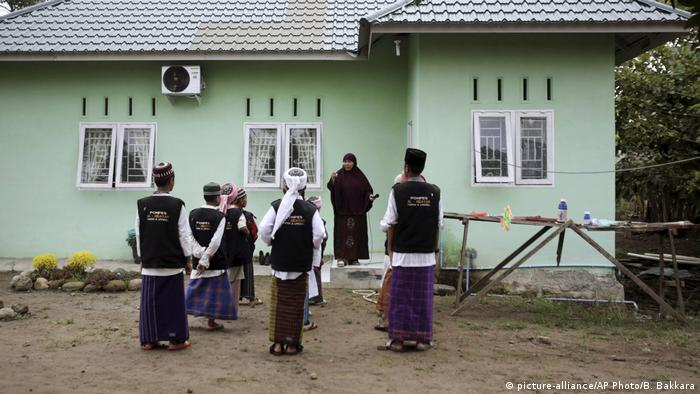 Indonesien Schule für Söhne von Terroristen (picture-alliance/AP Photo/B. Bakkara)