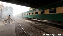 1. BG Pakistan Probleme bei der Wiederbelebung der Karachi Bahn