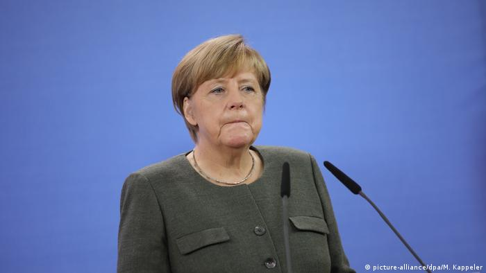 Merkel Says Sanctions To Be Lifted Once Ceasefire In Donbass Implemented