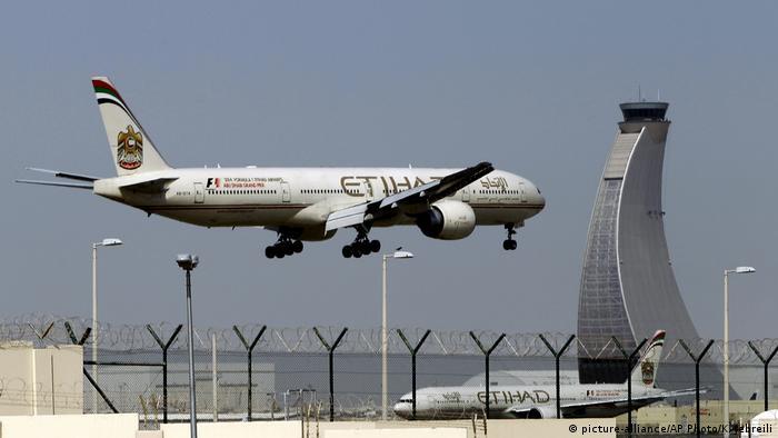 Abu Dhabi Etihad Airways (picture-alliance/AP Photo/K. Jebreili)