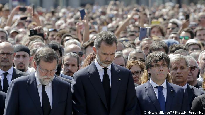 Nach Terroranschlag in Barcelona (picture alliance/AP Photo/M. Fernandez)