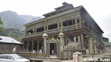 Pakistan Old Wooden Mosque of Upper Dir