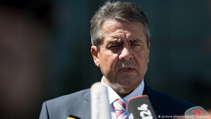 Deutschland Außenminister Sigmar Gabriel